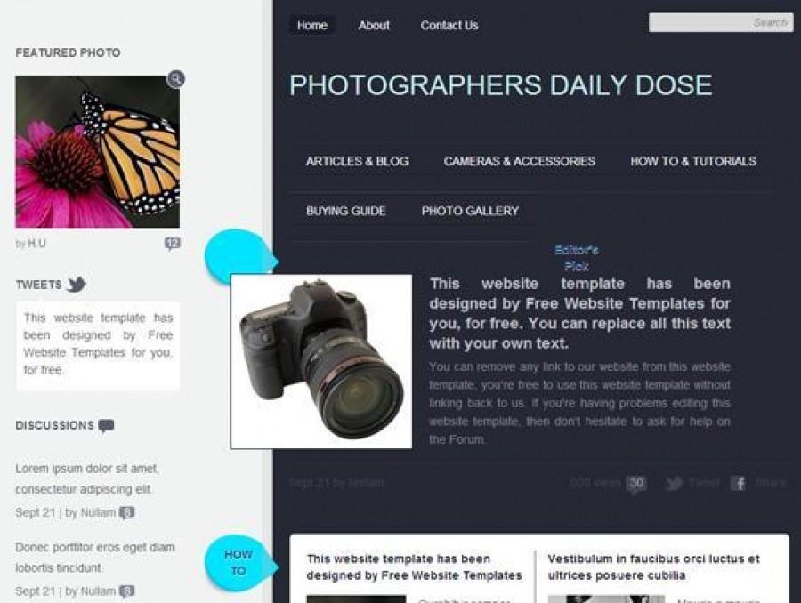 скачать бесплатно шаблон сайта портфолио - фото 11